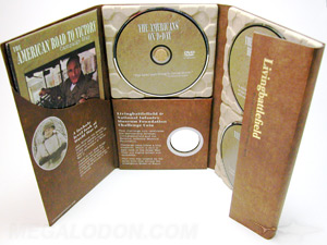 Custom DVD Set packaging and manufacturing